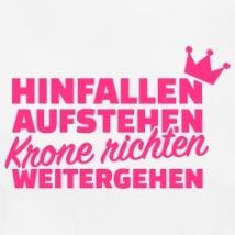 Krone-richten-weitergehen-T-Shirts